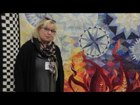 Claudia Pfeil - The Silk Road Tour, Part 2: Using Silk in Your Quilts