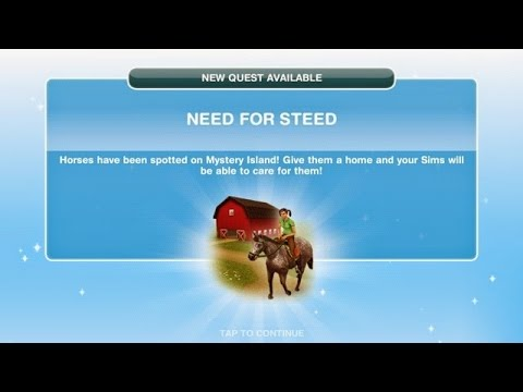 Sims Freeplay | Need For Steed Quest