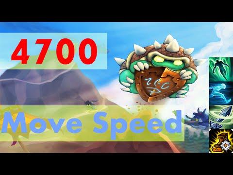 League of Legends - 4700 Move Speed Super Rammus