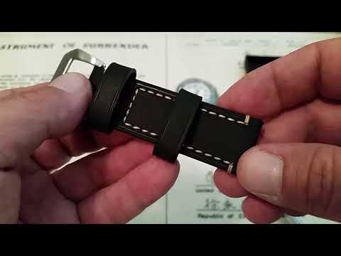 Berfine Leather Watch Strap