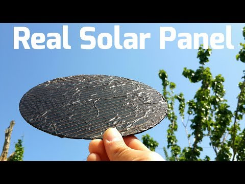 Free Energy Solar Energy Panel How to Make Solar Cell