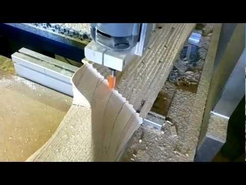 wood aircraft propeller.mp4