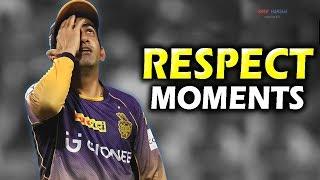 Gautam Gambhir Respect 🙏 ► Most Emotional & Heart touching Moments ► Tribute Video ► Updated 2019