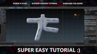 Fastest And Easiest Blender Rigging Tutorial Ever! (Beginner)