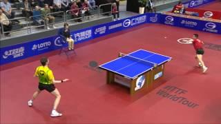 German Open 2014 Highlights: Steffen Mengel vs Wang Hao (3rd Round)