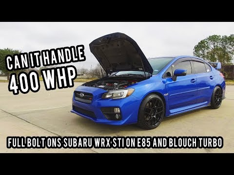 How Reliable is a 400 WHP SUBARU WRX STI on stock internals