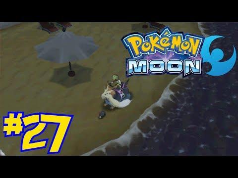 Pokémon Moon Episode 27 - A Day At The Beach