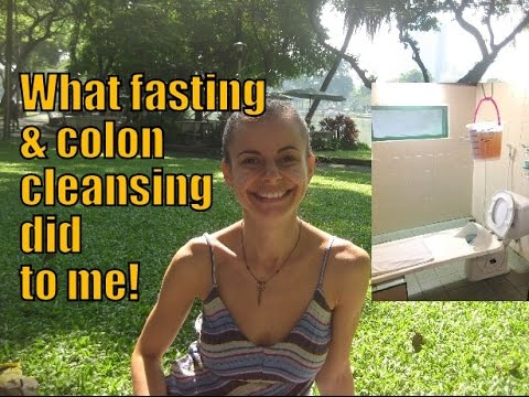 Is Fasting & Colon Cleansing Healthy? Our detox experience PART 1