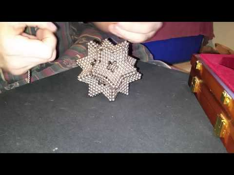 Hollow dodecahedron / stellated icosahedron
