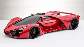The ULTRA Best of EXOTIC super cars N concept cars compilation