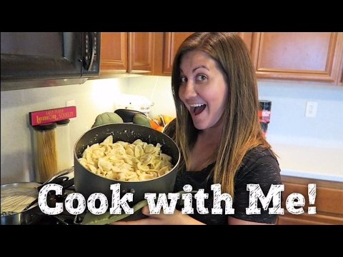 COOK WITH ME | CHICKEN TORTELLINI ALFREDO PASTA | PHILLIPS FamBam Cook with Me