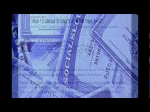 Obama Using a Fake Social Security Number!