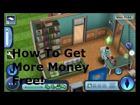 The Sims 3 Ambition IOS How to get More Money Free!