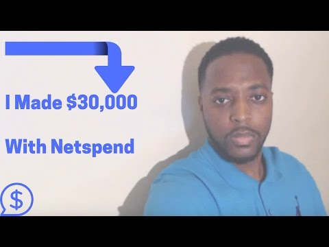 Learn How I Made $30,000 With Netspend PROOF MUST SEE!!!!!