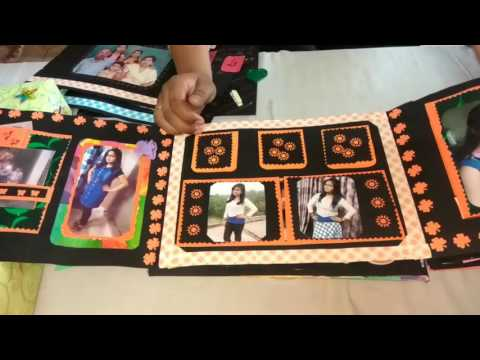 DIY art & craft/A gift for lovely sister/craft hand / scrapfile.