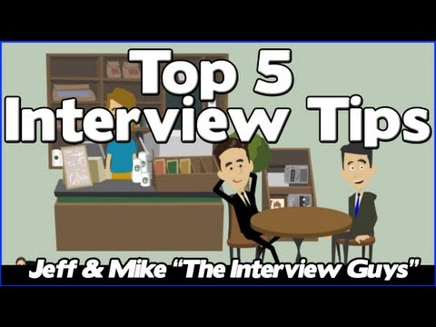 Interview Tips - The Top 5 Job Interview Tips You NEED To Pay Attention To