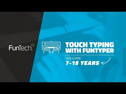 Touch Typing with FunTyper Camp 2018