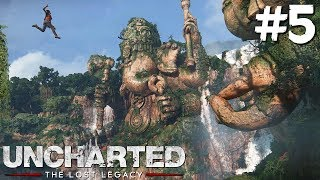 ESCALANDO HASTA LO MAS ALTO! | Uncharted: The Lost Legacy #5