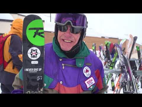 Inspiration - 100-Year-Old Skier - George Jedenoff