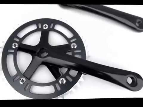 2015 Rumpus Full Alloy Fixie Bike Track Crankset Black 46T