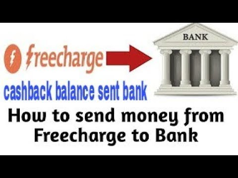 How to transfer your FREECHARGE CASHBACK Money to BANK