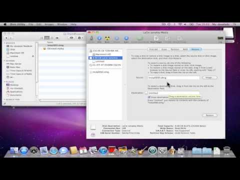 4936 How to make a Bootable OS X Lion USB install drive