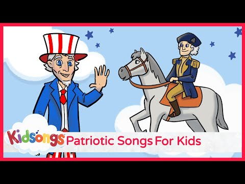 Best Patriotic Songs for Kids | When the Saints Go Marching | Wild Blue Yonder | PBS Kids| Part 1