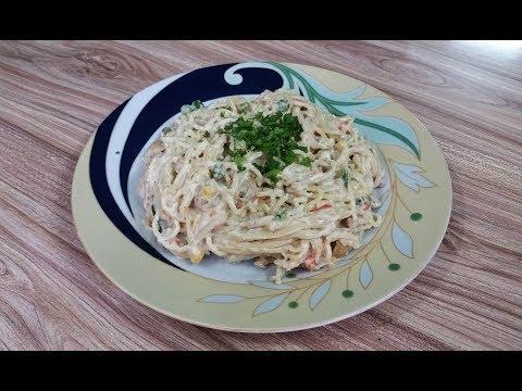 Creamy White Sauce Spaghetti