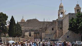 Đêm Giáng Sinh tại Bethlehem nơi Ngôi Hai Con Chúa xuống thế làm người