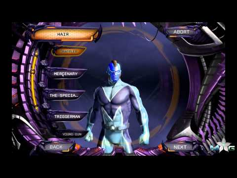 DC Universe Online - Male Character Customizations