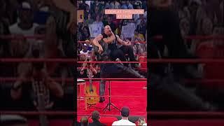 The Rock Bottom on Goldberg! #Shorts