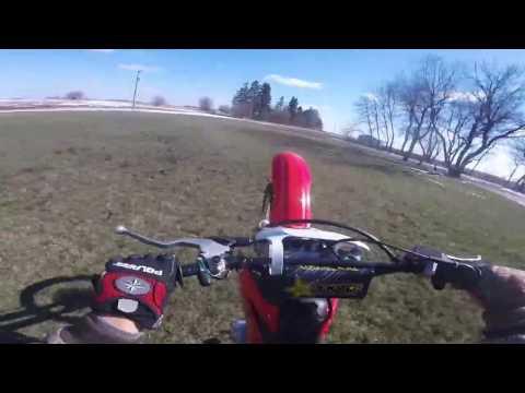 new dirt bike ride/wheeles