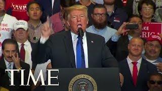 "Trump Says Brett Kavanaugh Is A ""Fine Fine Person""   TIME"