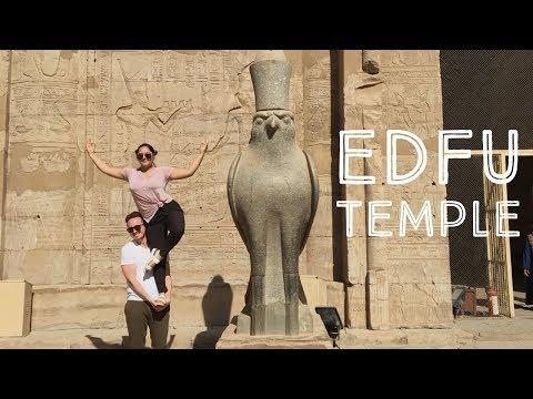 Edfu temple - Horus temple - Horus the Sky god