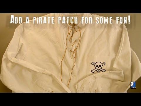 DIY Pirate Shirt Tutorial