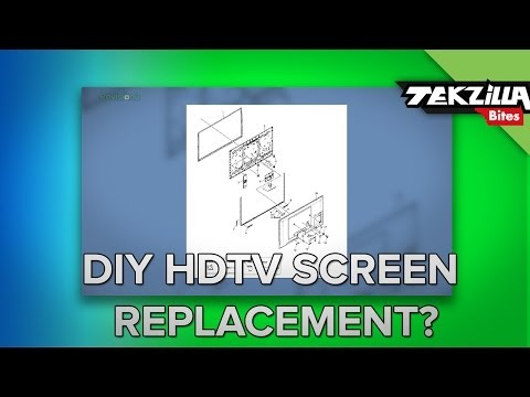 Can You Fix a Cracked HDTV Screen?