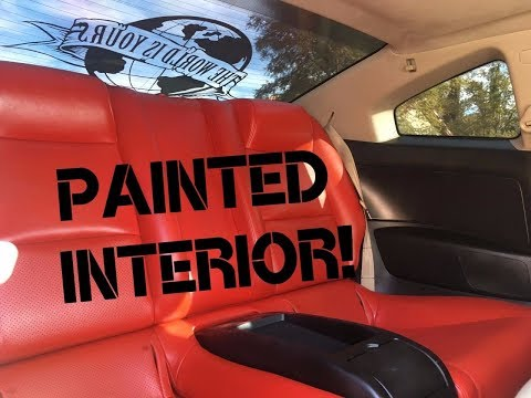 Painting the Interior of my G35 (DIY)
