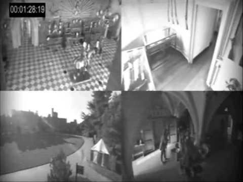 Warwick Castle- Ghost caught on camera