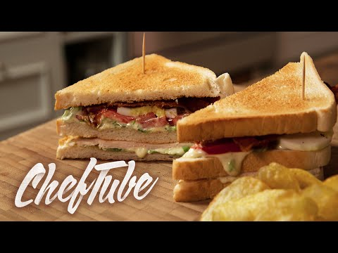 How to Make a New York Club Sandwich - Recipe in description