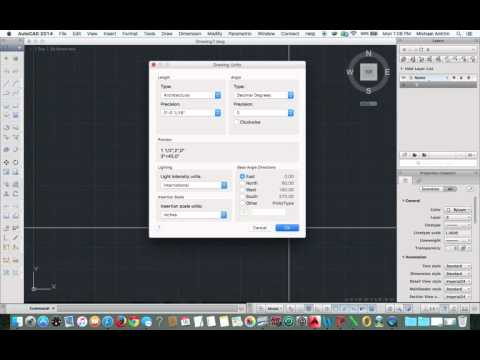 AutoCAD for mac - Setting up arch units