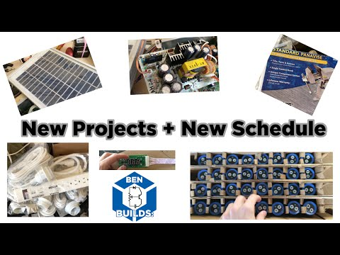 Channel Update: New Projects - New Schedule