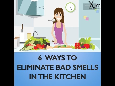 6 Ways to Eliminate Bad Smells in the Kitchen