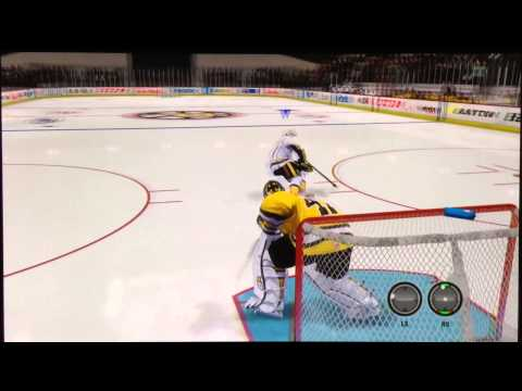NHL 14 Shootout deke