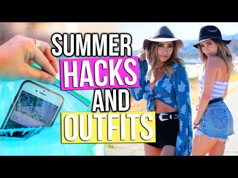 Instagram Worthy Summer/Festival Outfits + Summer Life Hacks!!