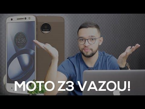 MOTO Z3 PLAY VAZOU!