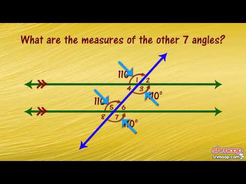 Parallel Lines, Transversals, and Angles