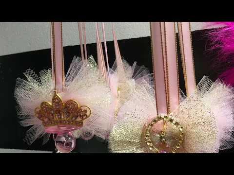 Princess Pacifier Necklaces Diy  | Curvey Crafts Nyc