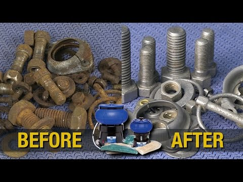 How To Clean & Polish Small Parts - Hardware - Rifle Casings - Coins - Vibratory Tumbler - Eastwood