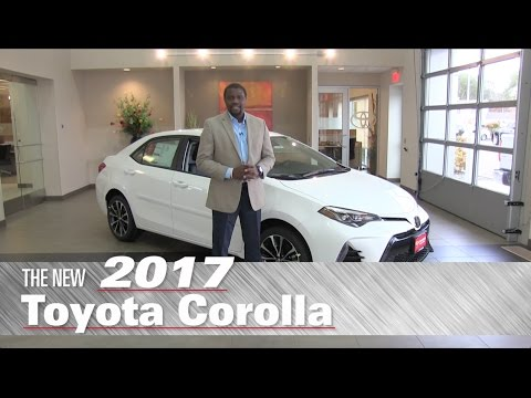The New 2017 Toyota Corolla SE - Minneapolis, St Paul, Brooklyn Center, MN - Review
