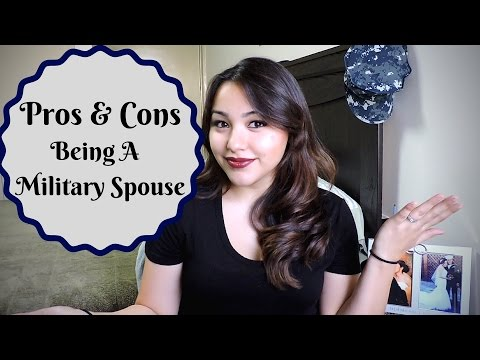 PROS & CONS Being a Military Spouse || Dec 2016